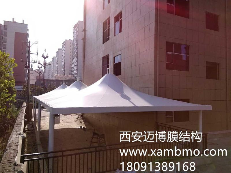 汉中市地下车库入口膜结构