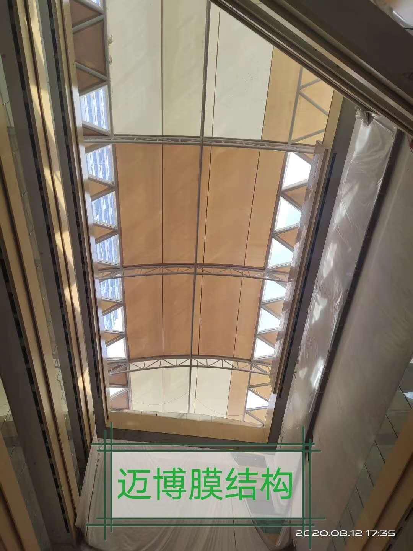 屋頂ETFE與PTFE的結合