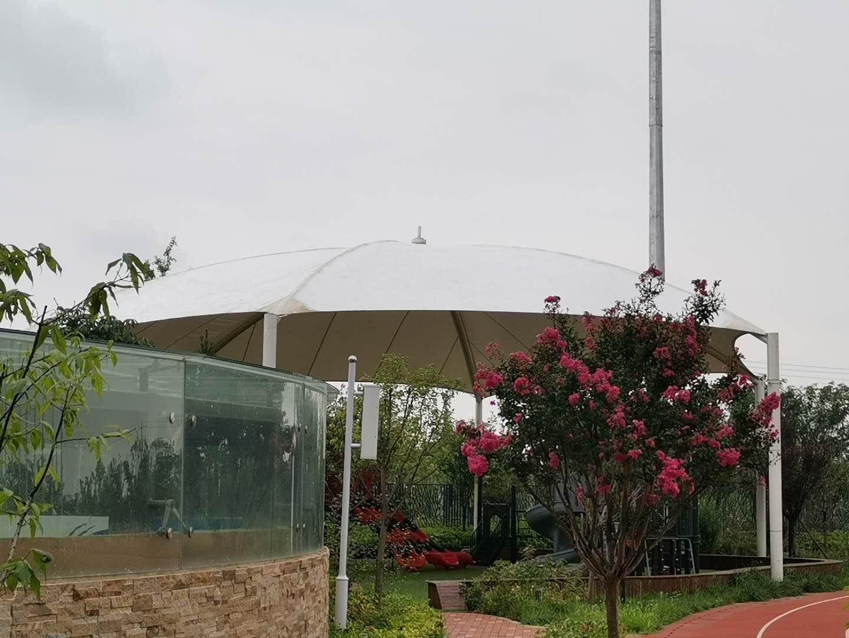 梁家灘國際學校遊樂園膜結構項目